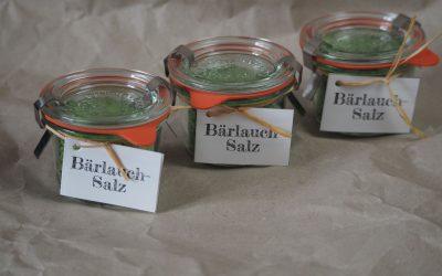 Rezept Bärlauchsalz