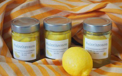 Rezept Salzzitronen